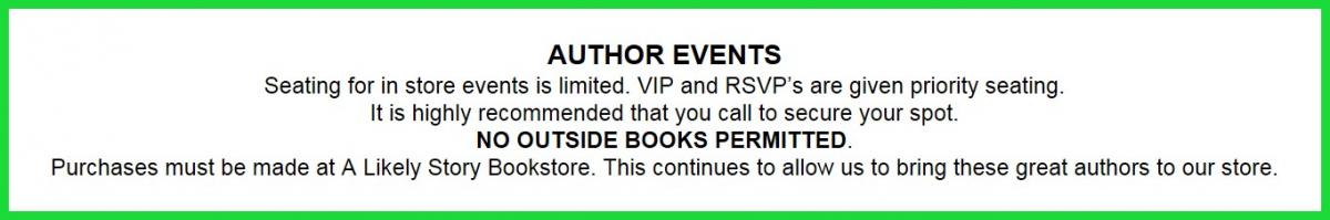 Author Event Disclosure